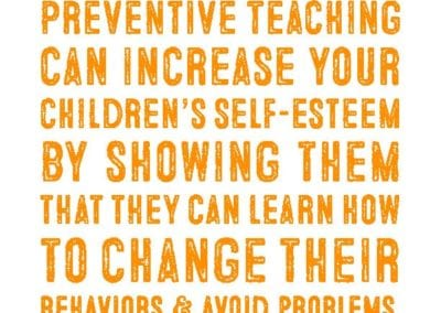 Preventive Teaching: Increase Self-Esteem Quote