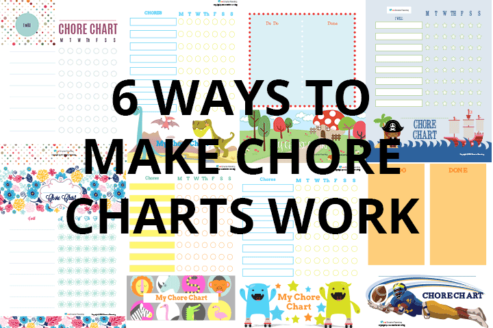 6 Ways to make chore charts effective