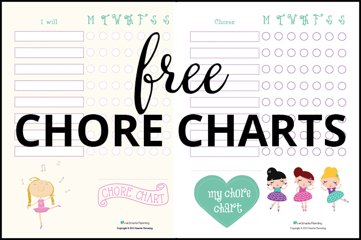 Creating routine with free dancer chore charts