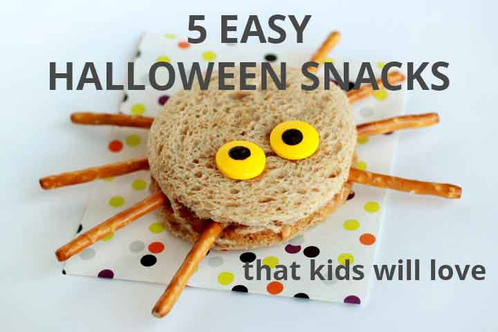 5 easy Halloween snacks