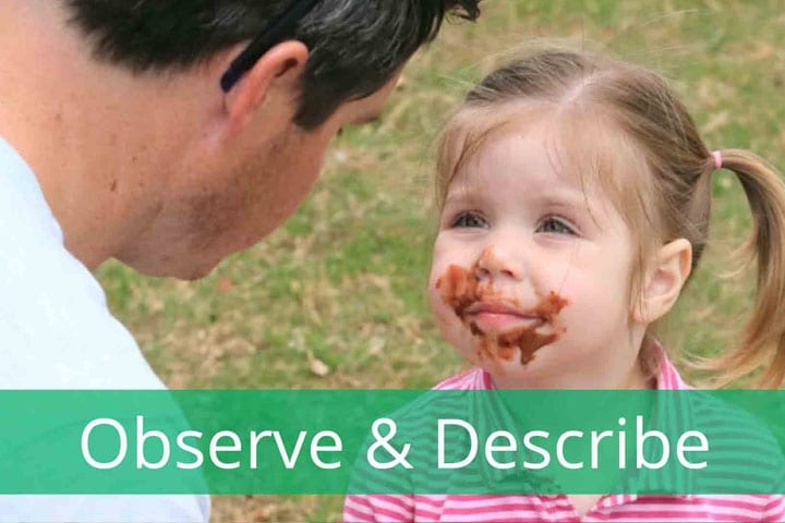 5 things to remember when using Observe and Describe
