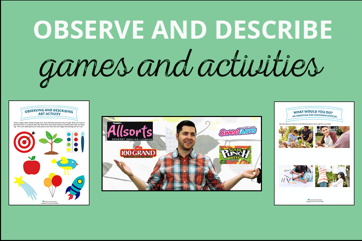 Observe and Describe Activities
