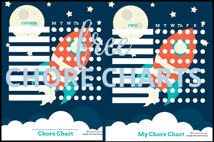Creating routine with free rocket chore chart