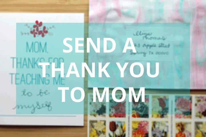 Send mom your thanks