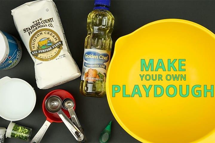 Making playdough: A Following Instructions activity