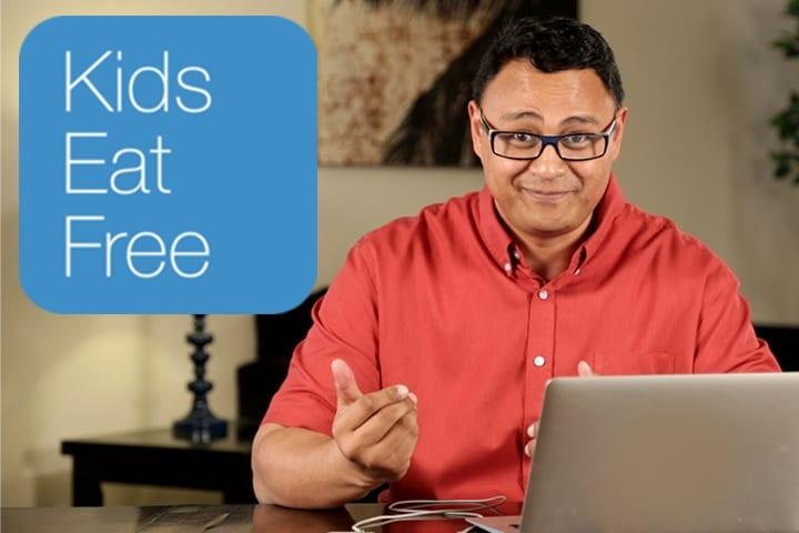 Kids Eat Free! App for Parents