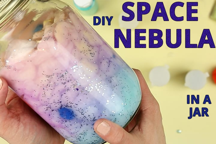 DIY nebula: a Following Instructions activity