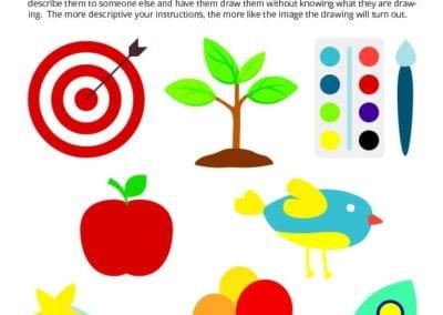 Observe and Describe: Art activity