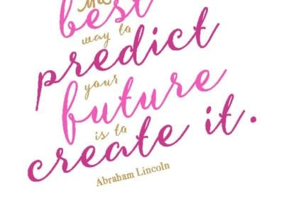 Preventive Teaching: Best Way to Predict Future Quote