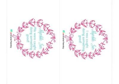 Effective Praise: Marble Jar Pink Wreath