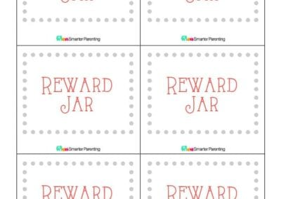 Effective Praise: Reward Jar Gray Border