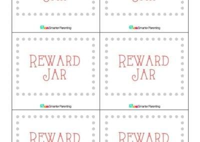 Effective Praise: Reward Jar Gray Border
