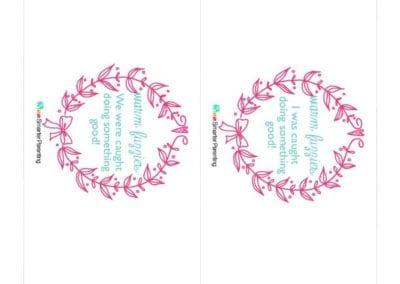 Effective Praise: Warm Fuzzies Pink Wreath