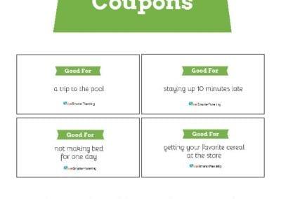 Behavior Coupons: Lime Green