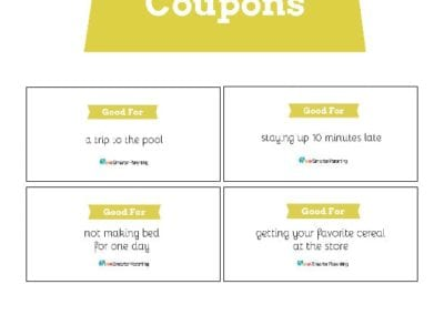 Behavior Coupons: Golden