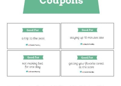 Behavior Coupons: Green
