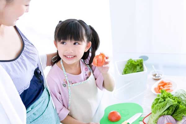 "Establishing healthy eating habits: a ""My Plate"" activity for kids"