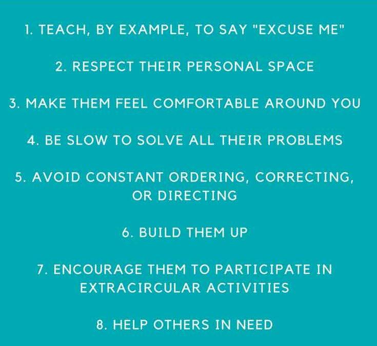 10 ways to respect your children