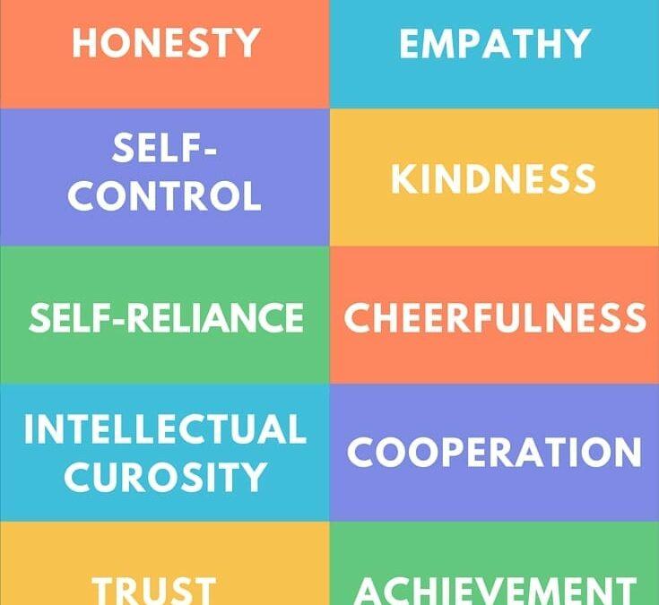 10 traits to teach your children