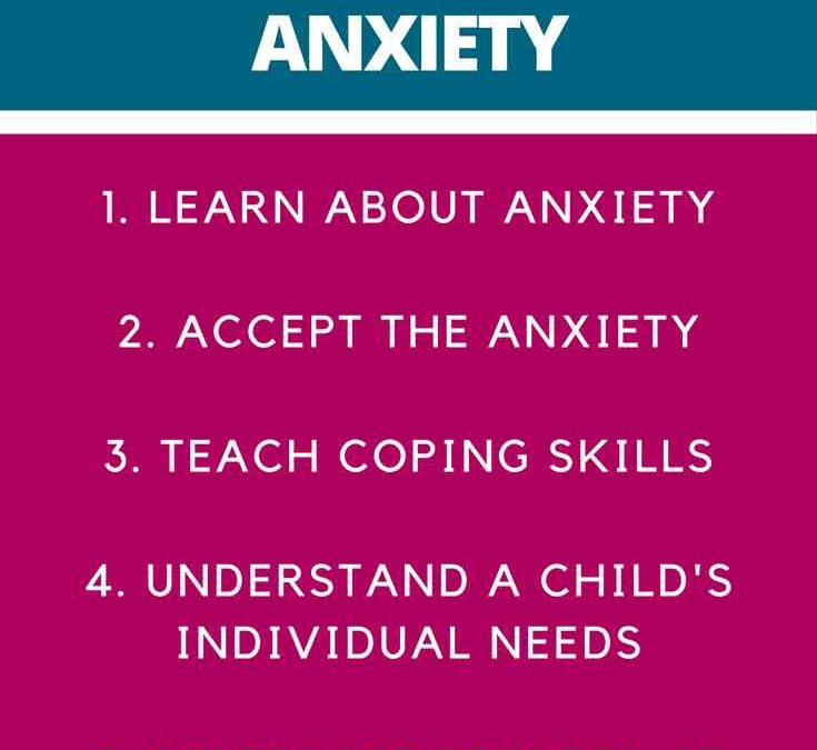 5 ways to help an anxious child