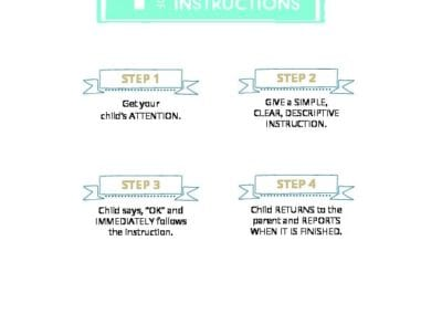 Steps of Following Instructions