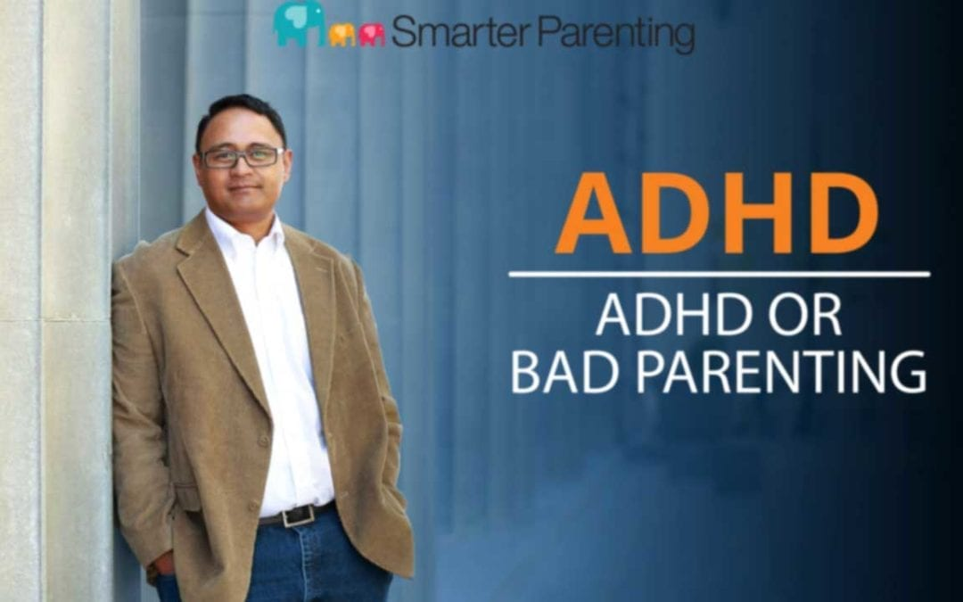 ADHD or bad parenting? Title graphic