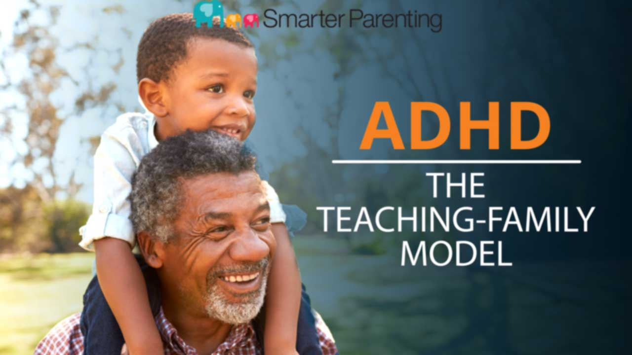 What is the teaching family model? Title graphic