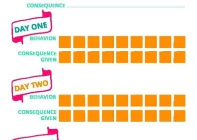 Correcting Behaviors: Target Behavior Worksheet