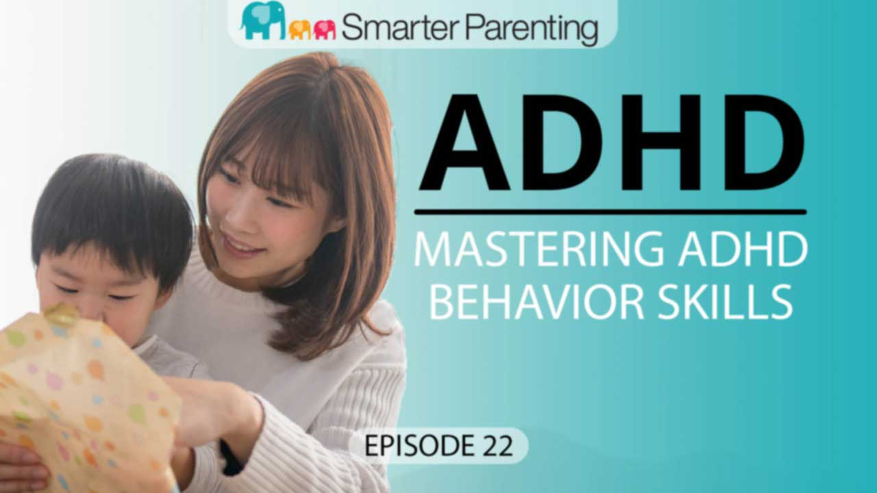 Mastering ADHD behavior - title graphic